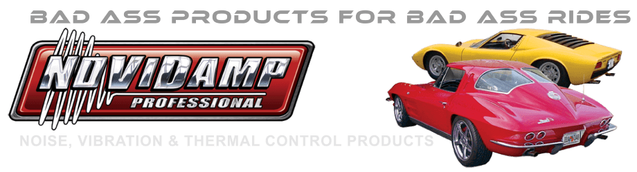 Best Auto Sound Proofing Material Kits For Trucks & Classic Cars | Novidamp Logo